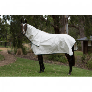 White Tearstop Horse Rug